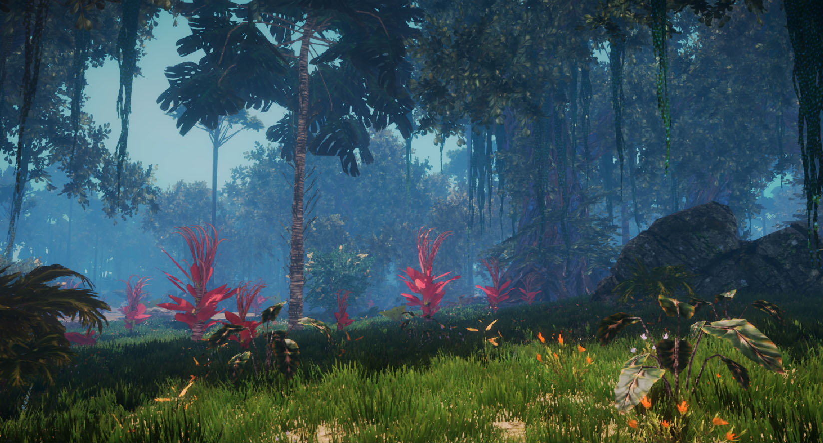 Planet Nomads Forest in Unity 5.4.2